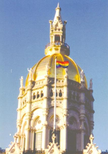 flag over capitol