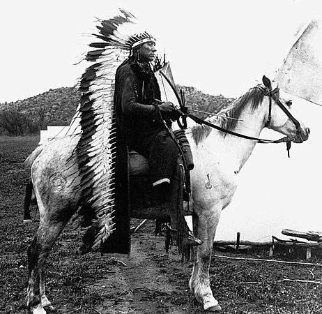 American Indian Chief, Quanah Parker